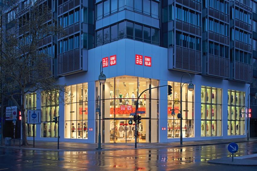 Uniqlo store berlin for Wohndesign 2 fermob store in berlin