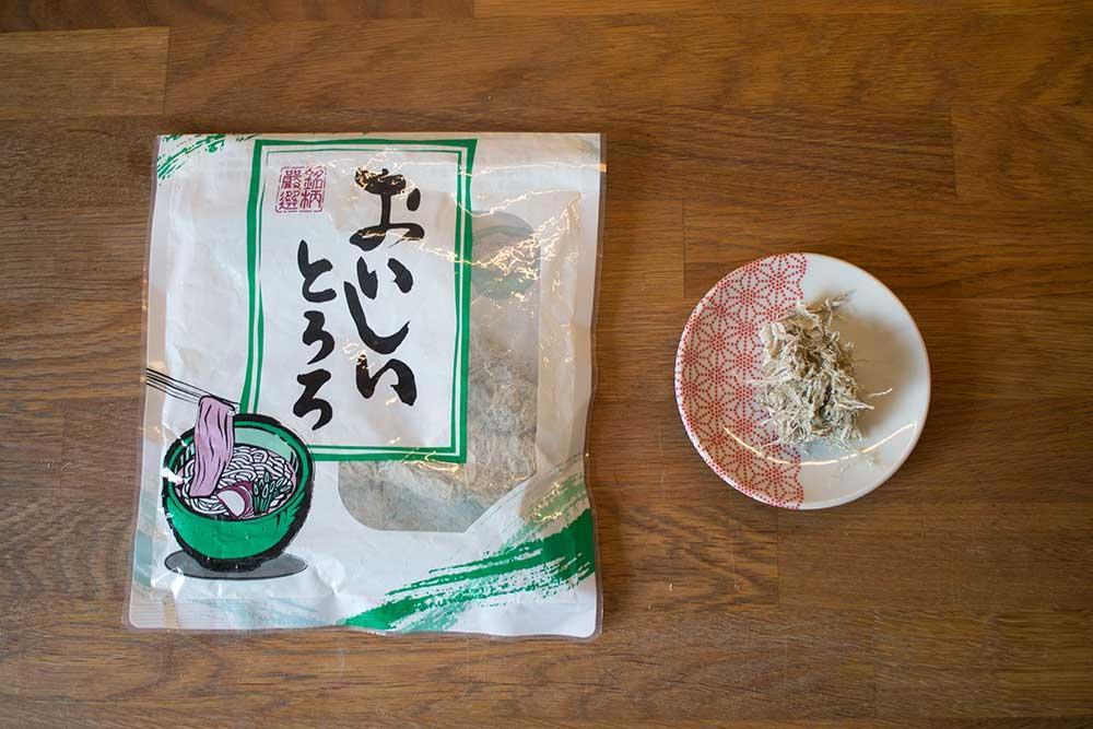 TORORO KONBU - geschabte Konbualgen