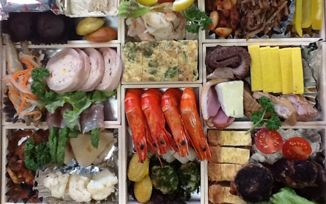 Essen für japanisches Neujahr - 01. Januar - Shōgatsu - 正月 - Japanisches Neujahr