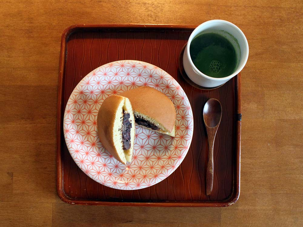 DORAYAKI - Pfannkuchen mit Azukibohnenpaste