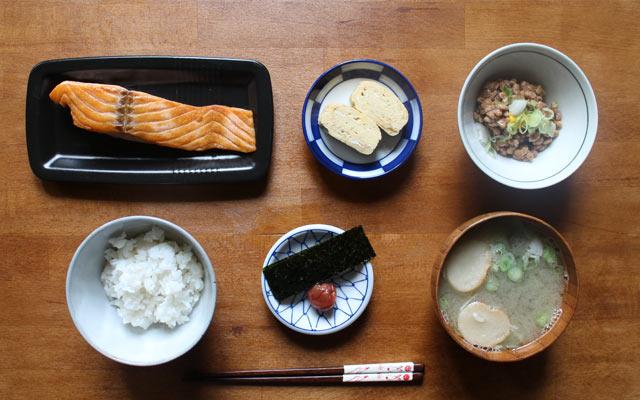 Japanisches Frühstück