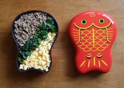 Drei Farben DON – Sanshokudon – 三色丼