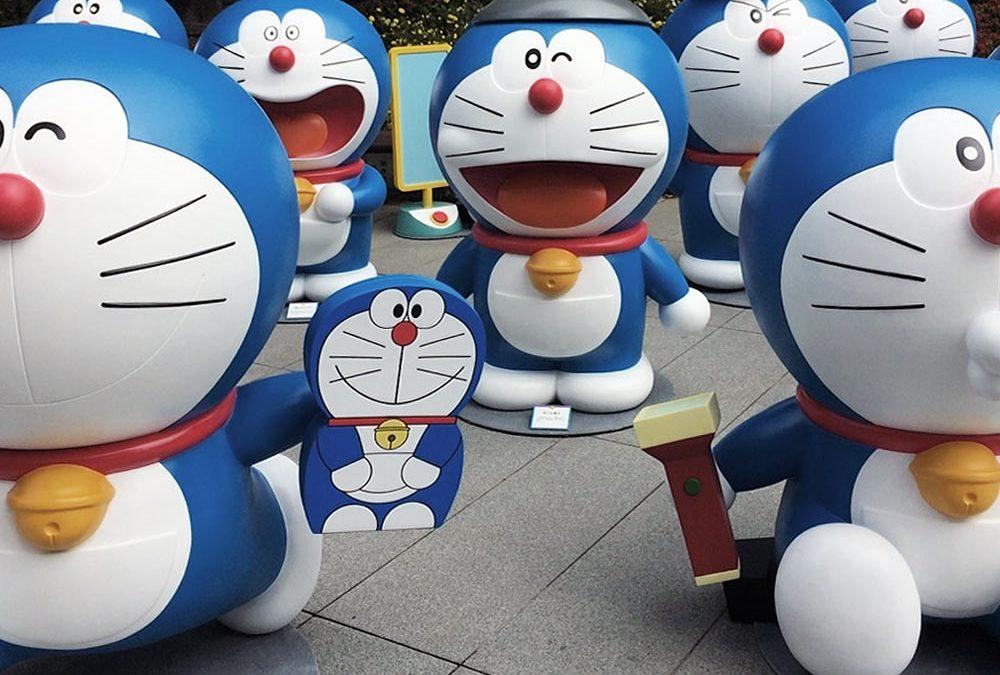 Doraemon @ Hakata Eki