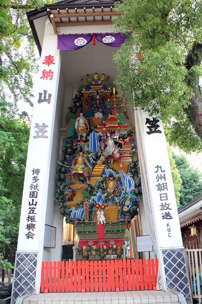 Kushida Jinja - der älteste Shinto-Schrein in Fukuoka