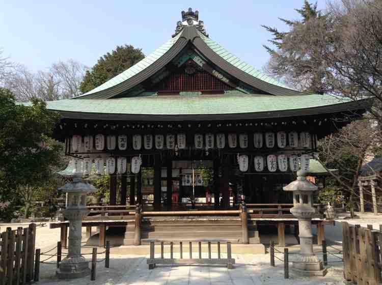 Kyoto – Shiramine Jingu – Ein Schrein für die Fußballspieler