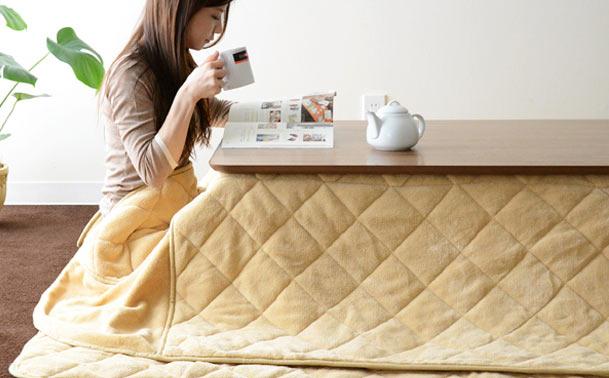 Kotatsu – 炬燵 – beheizbarer Tisch