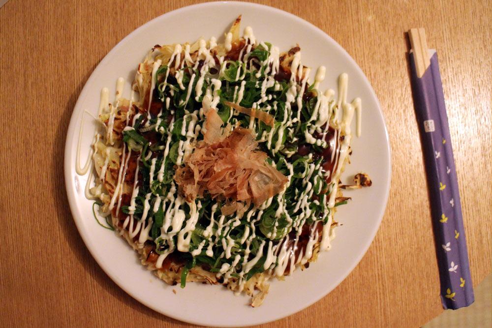 Hanage - Klassisches Okonomiyaki mit Lauch