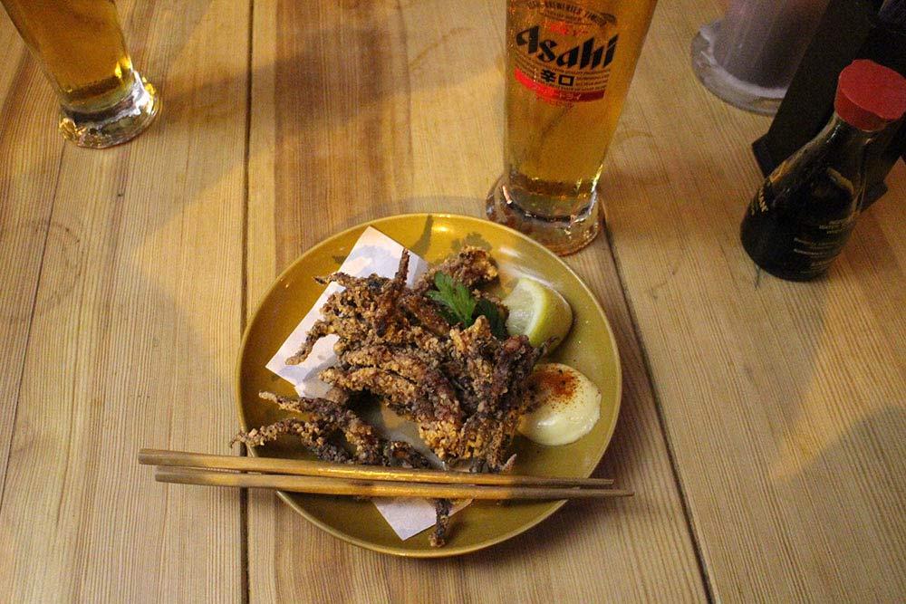 Hashi - Geso Karaage