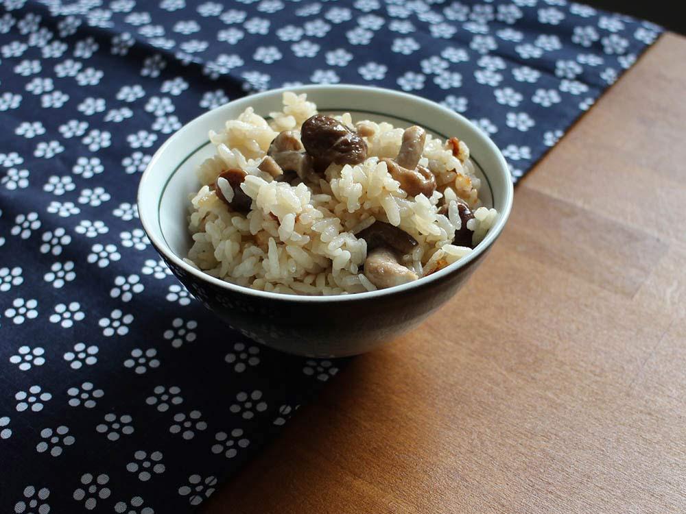 SHIITAKEGOHAN - Reis mit Shiitakepilzen