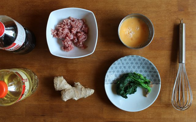 Drei Farben DON - Sanshokudon - 三色丼