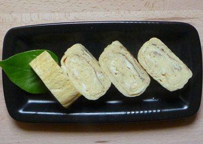 DASHIMAKI – gerolltes japanisches Omelett mit Natsuyu
