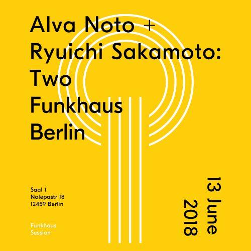 Ausverkauft: Ryuichi Sakamoto & Alva Noto im Funkhaus Berlin