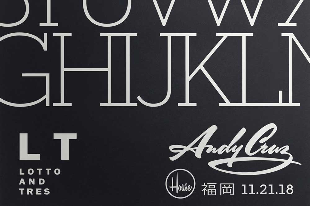 Andy Cruz von HOUSE INDUSTRIES in Fukuoka